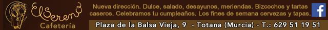 Bares Totana : Cafetería El Sereno