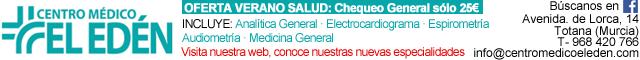 Salud Totana : Centro Médico El Edén