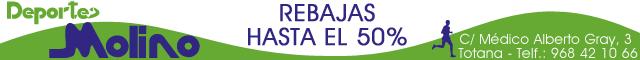 Equipamiento deportivo Totana : Deportes Molino