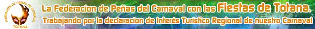 Asociaciones Totana : Federación de Peñas del Carnaval de Totana