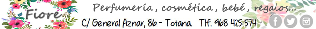 Regalos Totana : Fiore Perfumería