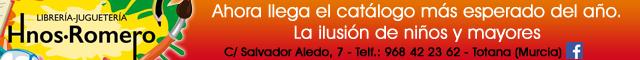 Librerías Totana : Librería - Juguetería Hnos. Romero