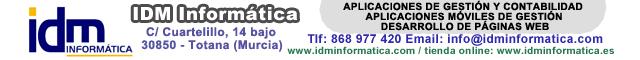 Informática Totana : IDM Informática
