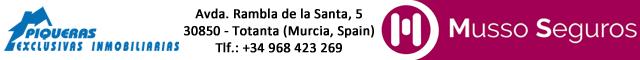 Inmobiliarias Totana : Piqueras Exclusivas Inmobiliarias