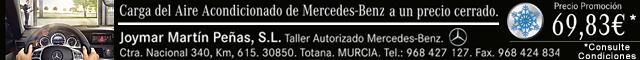Concesionarios Totana : Joymar Martín Peñas, Taller autorizado Mercedes - Benz