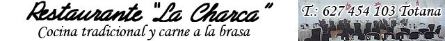 Restaurantes Totana : Restaurante La Charca