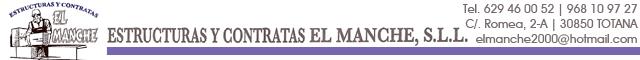 Estructuras de Hormigón Totana : Estructuras y contratas El Manche