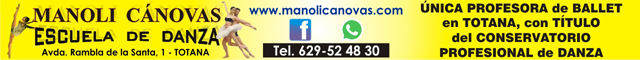 Totana : Academia de danza Manoli Canovas