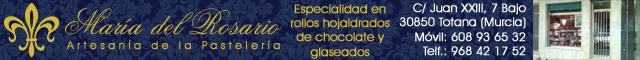 Confiterías Totana : Pastelería María Del Rosario