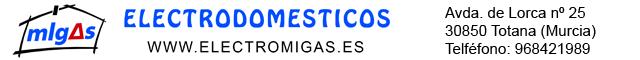 Nuevas tecnologías Totana : Electrodomésticos Migas