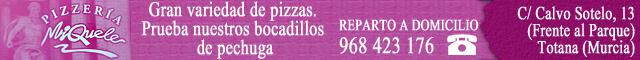 Restaurantes Totana : Pizzería Miquele