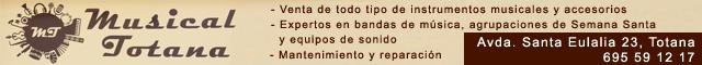 Instrumentos musicales Totana : Musical Totana