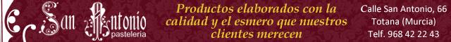 Pastelerías Totana : Pastelería San Antonio