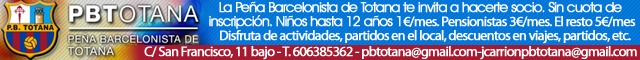 Asociaciones Totana : Peña Barcelonista de Totana