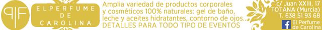 Regalos Totana : El Perfume de Carolina