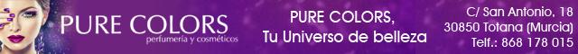 Perfumerías Totana : Pure Colors