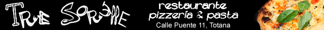 Comidas Para Llevar Totana : Restaurante Pizzeria Tre Sorelle