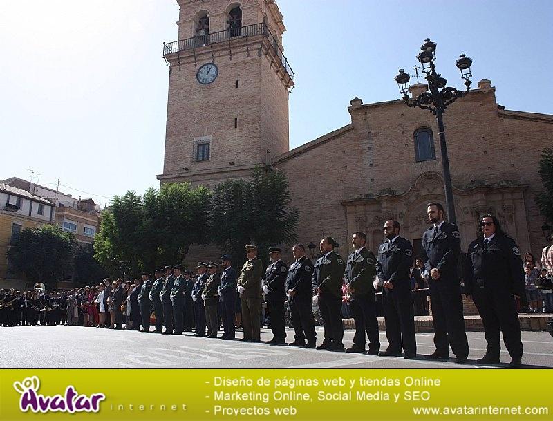 Homenaje a la Bandera de España. Día Fiesta Nacional 2017 - 003
