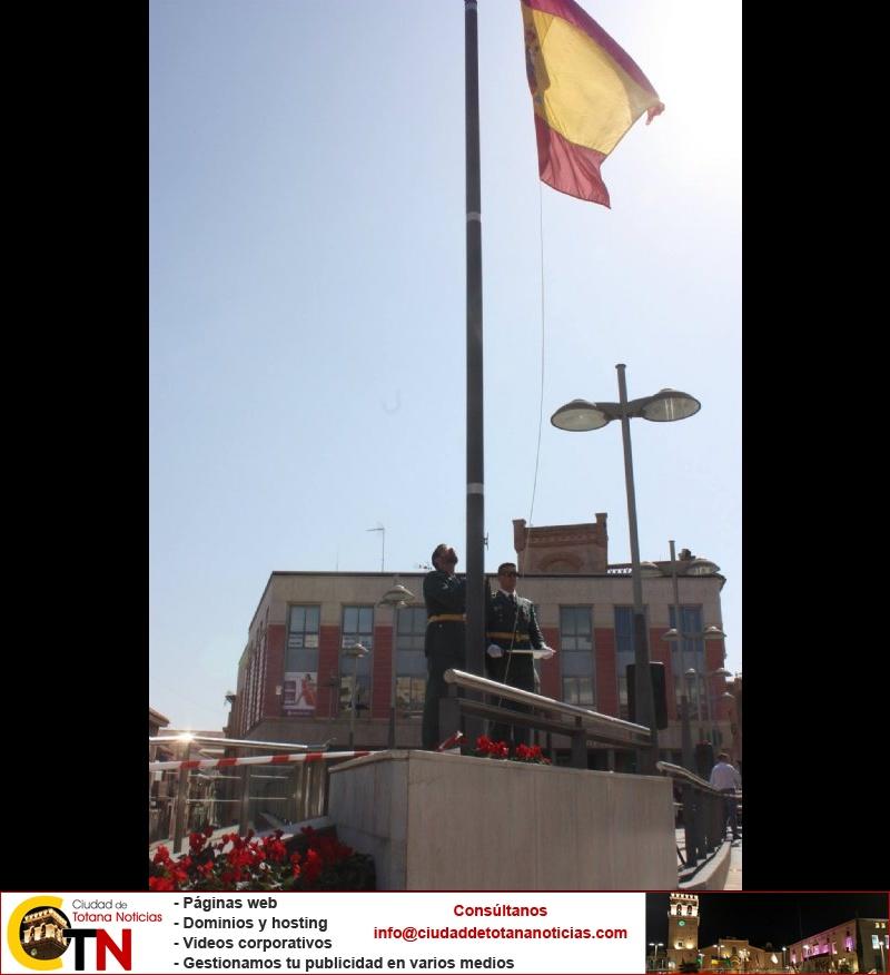 Homenaje a la Bandera de España. Día Fiesta Nacional 2017 - 005