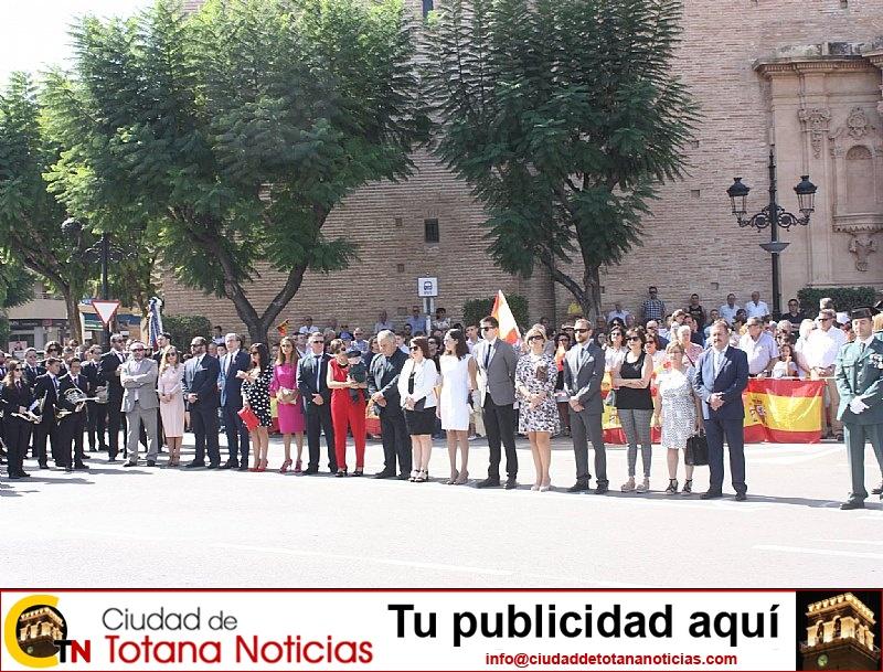 Homenaje a la Bandera de España. Día Fiesta Nacional 2017 - 006