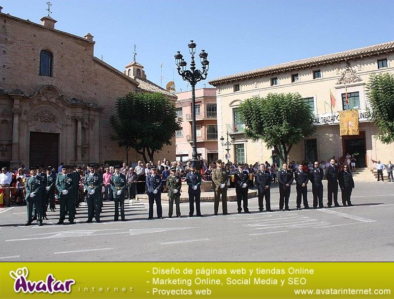 Homenaje a la Bandera de España. Día Fiesta Nacional 2017 - 007