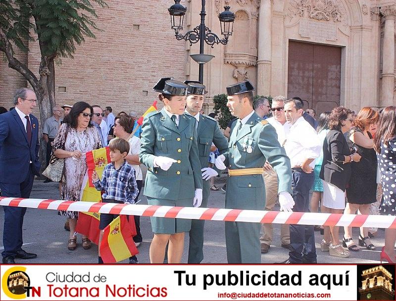 Homenaje a la Bandera de España. Día Fiesta Nacional 2017 - 018