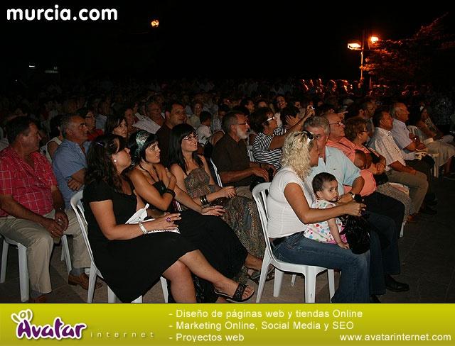 Acontracanto en concierto. Aledo 2008 - 3