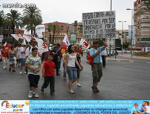 1ª Marcha de Personas Paradas y Afectadas por la Crisis  - 2