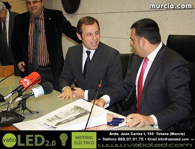 Sandro Rosell en Totana - 20