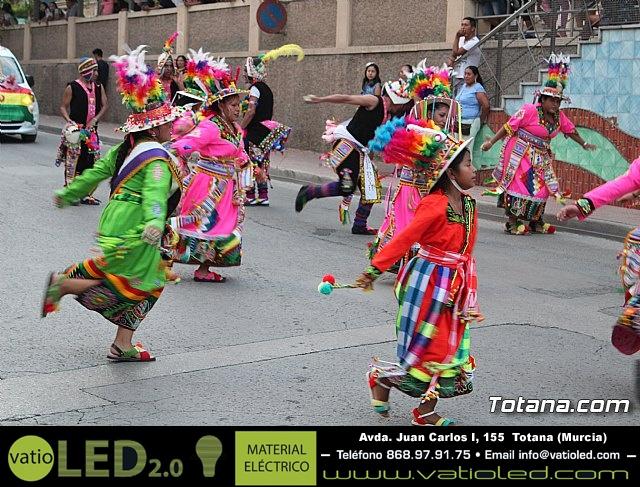 Desfile de baile. Fiestas en honor a la Virgen de la Urkupiña (Bolivia) - 17