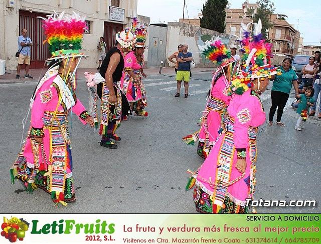 Desfile de baile. Fiestas en honor a la Virgen de la Urkupiña (Bolivia) - 23