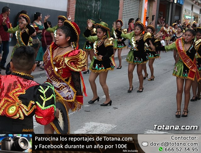 Desfile de baile. Fiestas en honor a la Virgen de la Urkupiña (Bolivia) - 34