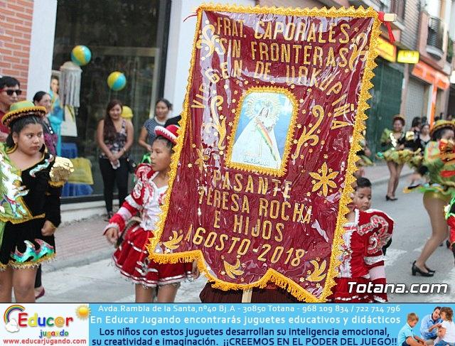 Desfile de baile. Fiestas en honor a la Virgen de la Urkupiña (Bolivia) - 35
