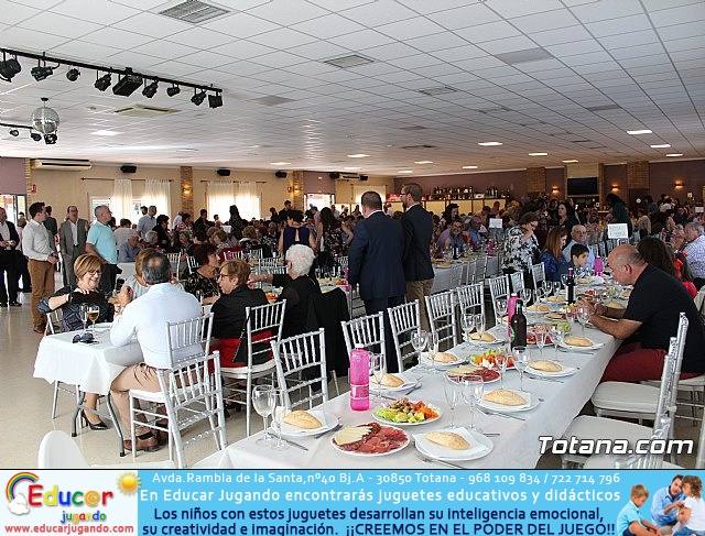 Comida gala a beneficio de la AECC -2017 - 2