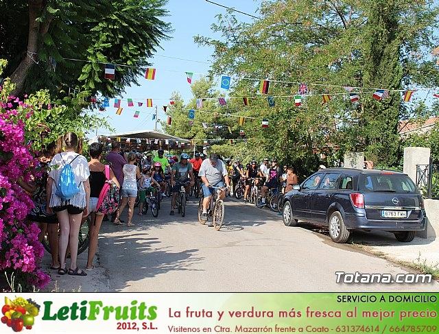 Marcha ciclista. Fiestas de la Costera 2018 - 1