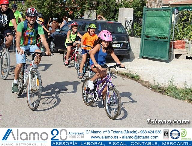Marcha ciclista. Fiestas de la Costera 2018 - 3