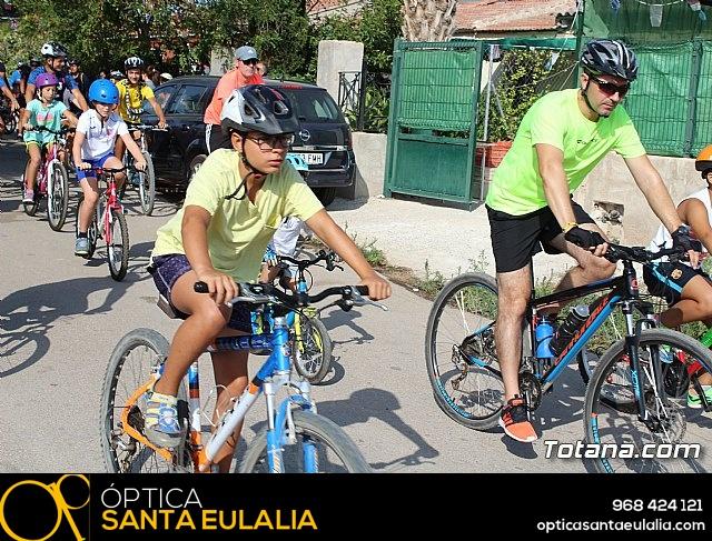Marcha ciclista. Fiestas de la Costera 2018 - 8