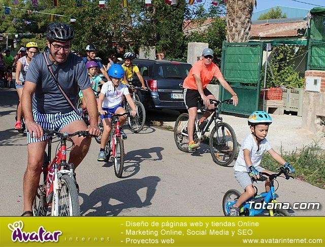 Marcha ciclista. Fiestas de la Costera 2018 - 9
