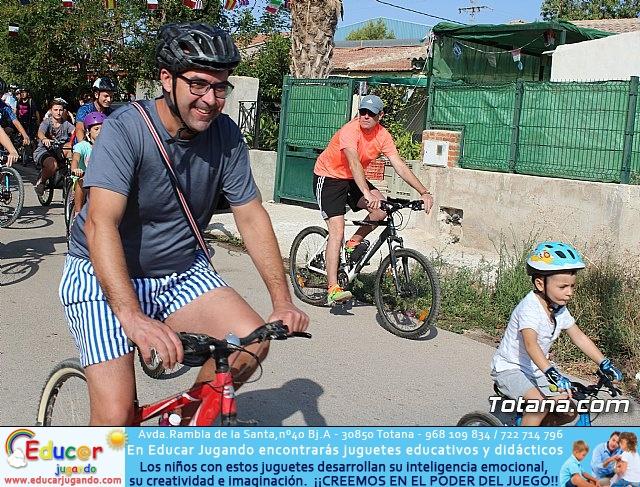 Marcha ciclista. Fiestas de la Costera 2018 - 10