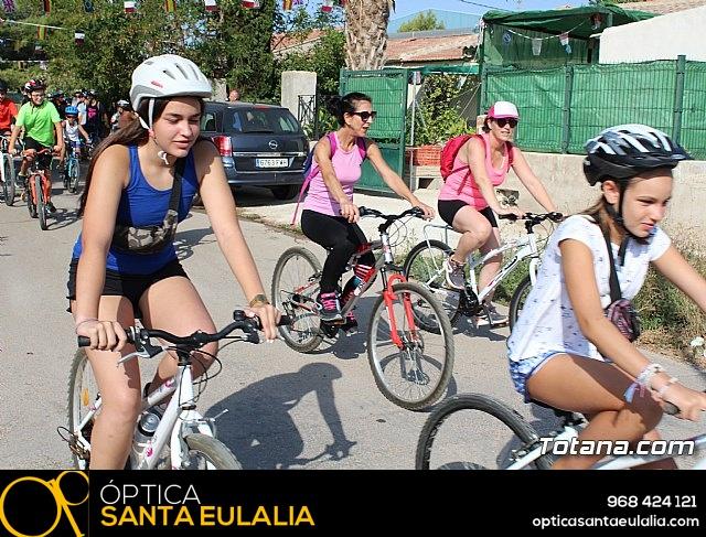 Marcha ciclista. Fiestas de la Costera 2018 - 14