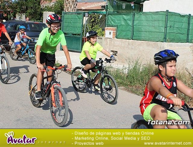 Marcha ciclista. Fiestas de la Costera 2018 - 16