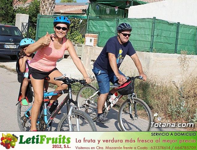 Marcha ciclista. Fiestas de la Costera 2018 - 19