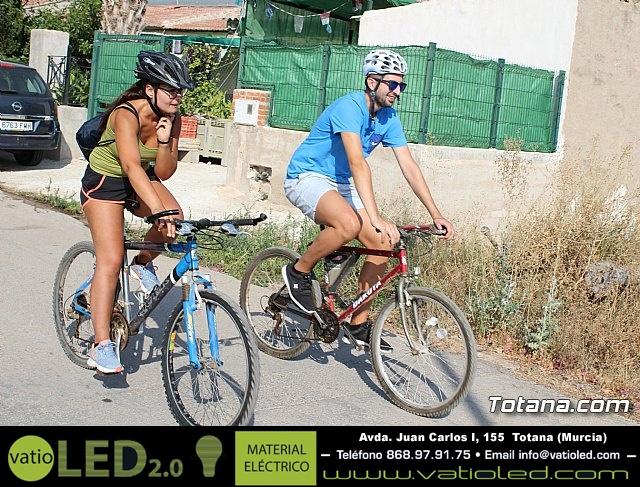 Marcha ciclista. Fiestas de la Costera 2018 - 24