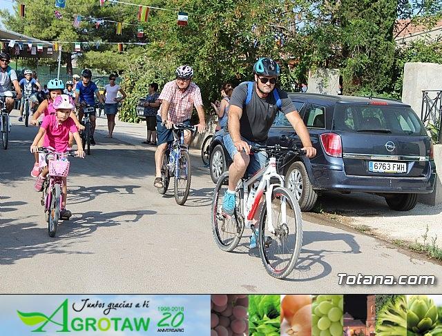 Marcha ciclista. Fiestas de la Costera 2018 - 32
