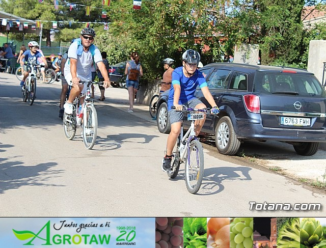 Marcha ciclista. Fiestas de la Costera 2018 - 34