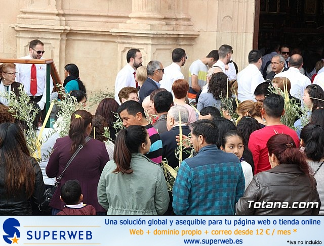 Domingo de Ramos - Procesi�n Iglesia Santiago - Semana Santa 2017 - 21