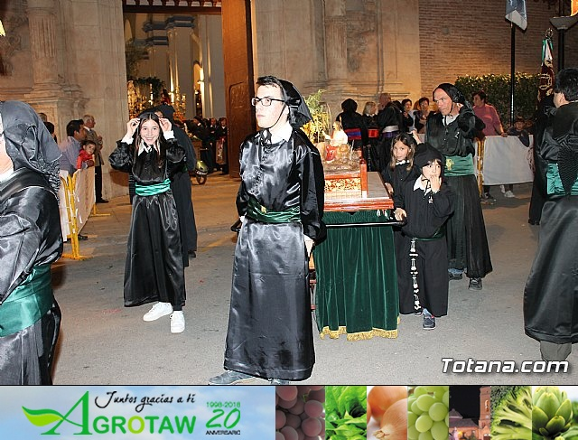 Procesi�n Jueves Santo - Semana Santa Totana 2017 - 18