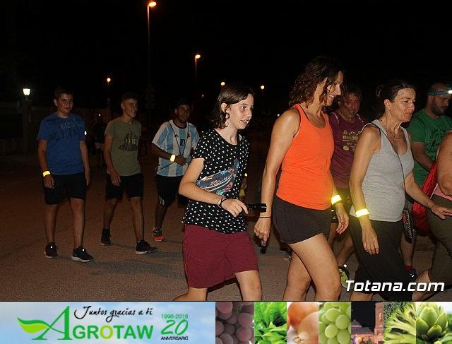 Ruta Senderista Nocturna. Fiestas de El Paretón-Cantareros 2018 - 26