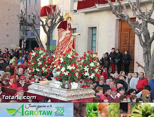 Romería Santa Eulalia 7 enero 2017 - Reportaje I (Totana, el Rulo) - 66
