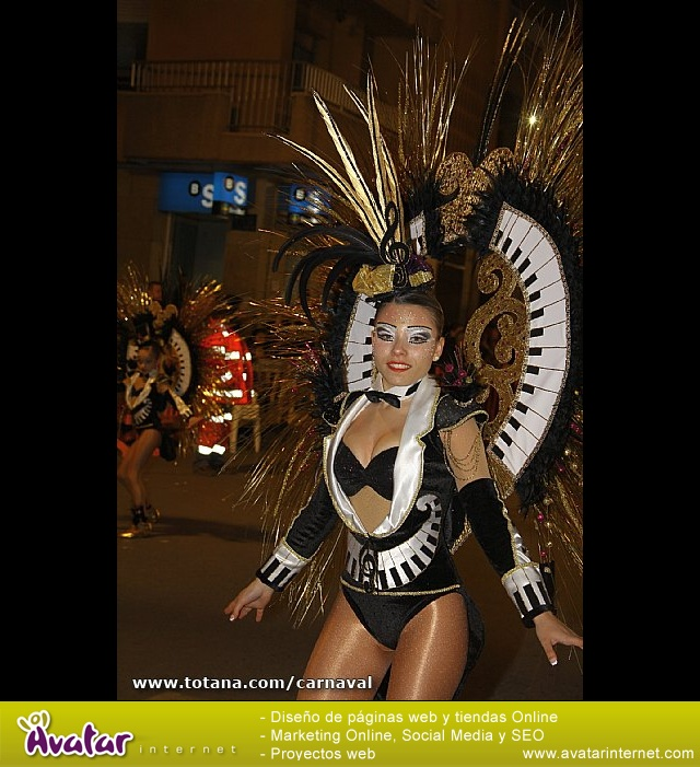 Totana estuvo presente en los carnavales de Águilas y Alhama - 36